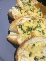 "I like to serve risotto with homemade garlic bread. See ""Hints & Tips"" section for recipe."
